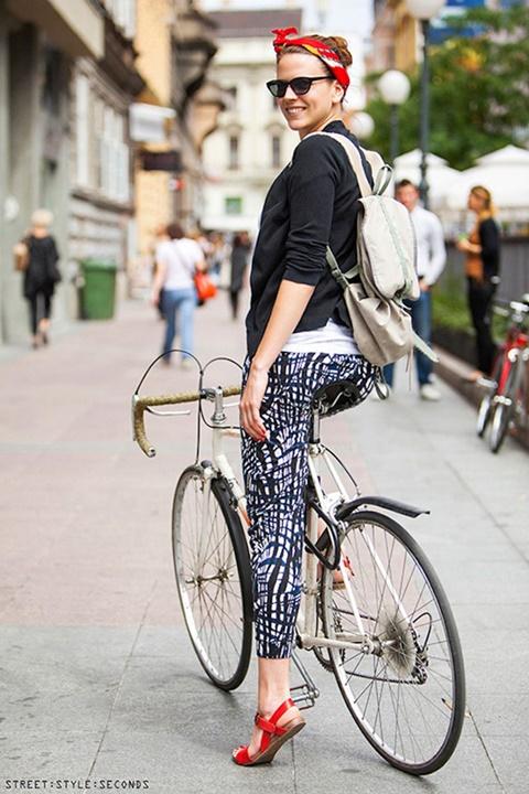 """Xe đạp: Món phụ kiện cực """"chất"""" của tín đồ thời trang-9"""