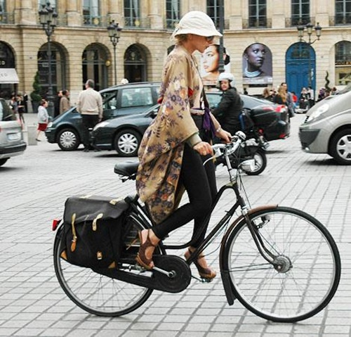 """Xe đạp: Món phụ kiện cực """"chất"""" của tín đồ thời trang-10"""