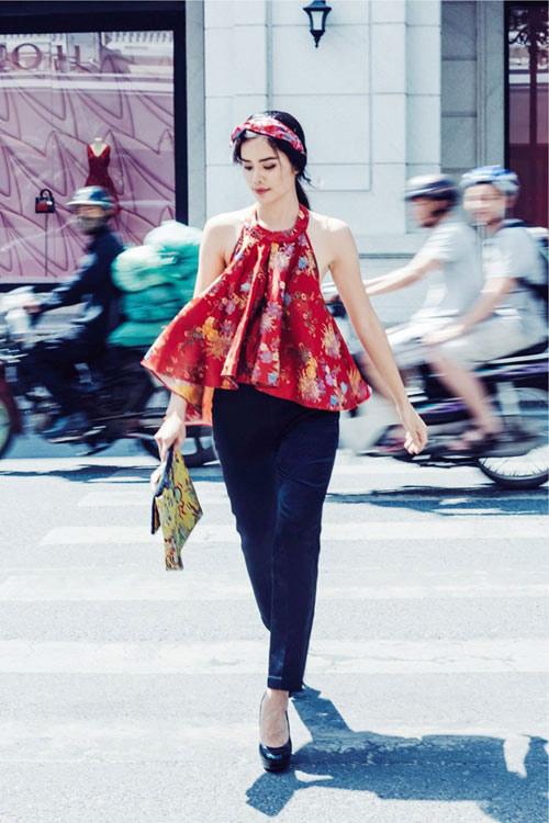 Sao Việt cách tân trang phục truyền thống đẹp và khéo-3