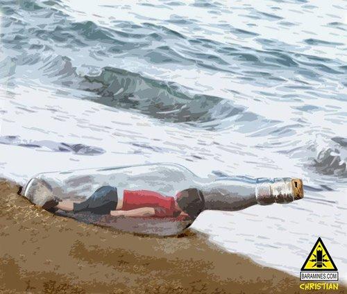 """Xúc động hình ảnh """"Thiên thần ngủ say bên bờ biển""""-6"""