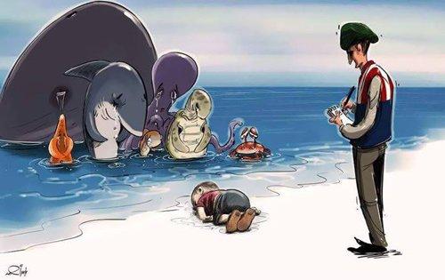 """Xúc động hình ảnh """"Thiên thần ngủ say bên bờ biển""""-7"""