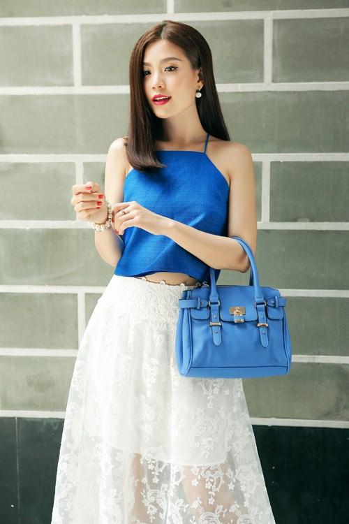 Diễm Trang đẹp rạng ngời sau khi công khai chồng sắp cưới-1