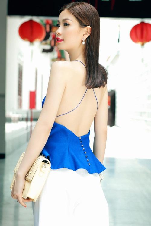 Diễm Trang đẹp rạng ngời sau khi công khai chồng sắp cưới-8