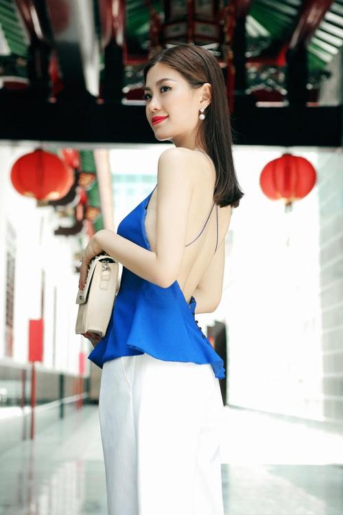 Diễm Trang đẹp rạng ngời sau khi công khai chồng sắp cưới-9