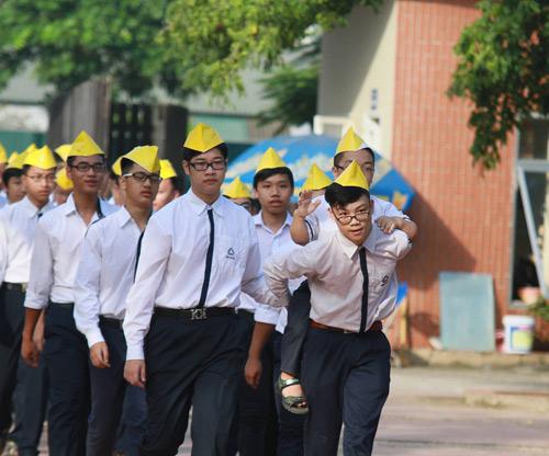 Học sinh cả nước nô nức khai giảng năm học mới-6