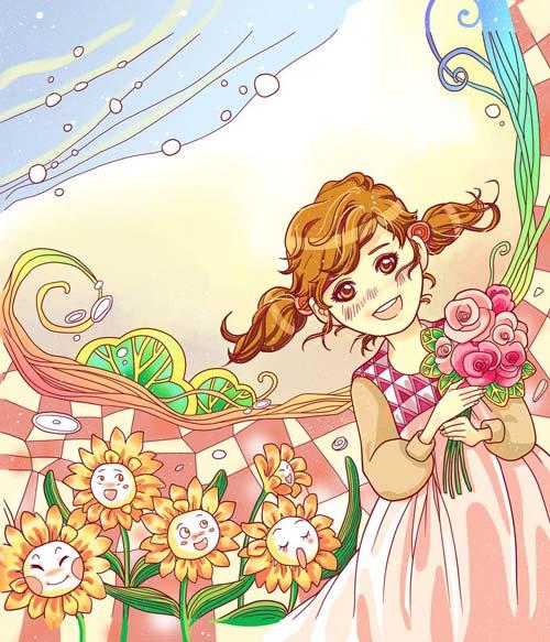 Truyện cổ tích: Những bông hoa của cô bé Ida-4