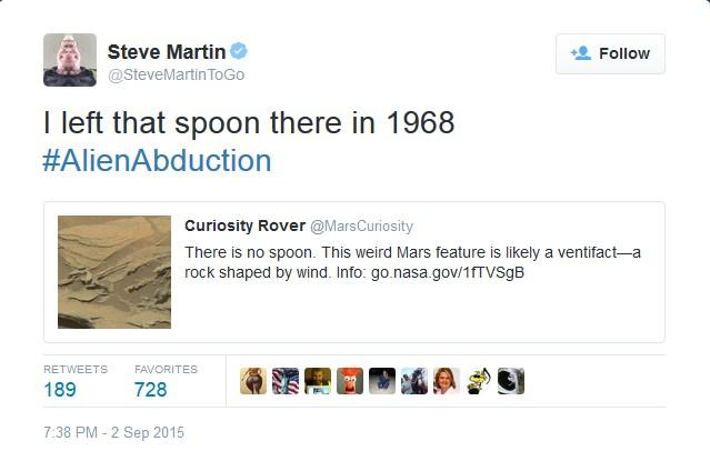 """NASA phát hiện """"chiếc thìa bay lơ lửng"""" trên sao Hỏa-2"""