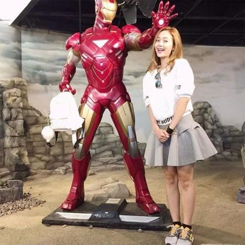 Chồng Đoan Trang chăm sóc con gái chu đáo-10