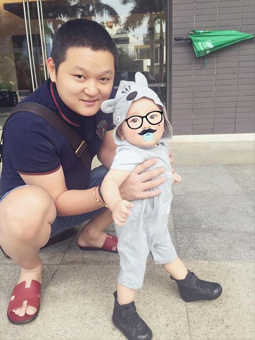 tra my idol khoe anh ngo nghinh cua con trai - 6