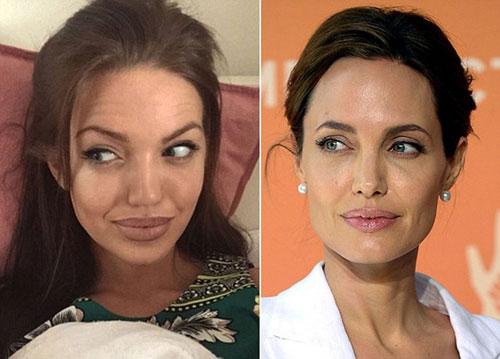 Bản sao Angelina Jolie khiến dân cư mạng sửng sốt-4