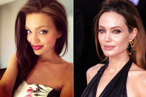 Bản sao Angelina Jolie khiến dân cư mạng sửng sốt-2