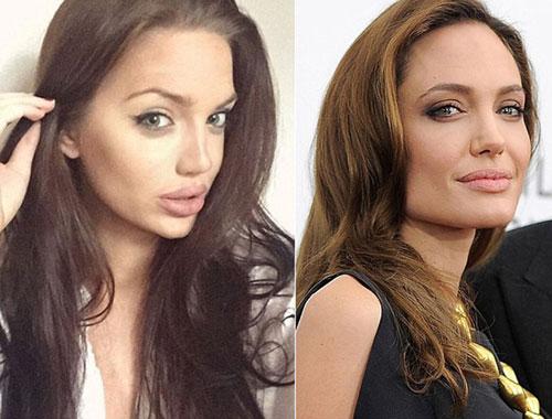 Bản sao Angelina Jolie khiến dân cư mạng sửng sốt-3