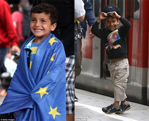Nước Đức hò reo chào đón hàng nghìn người tị nạn Syria-5