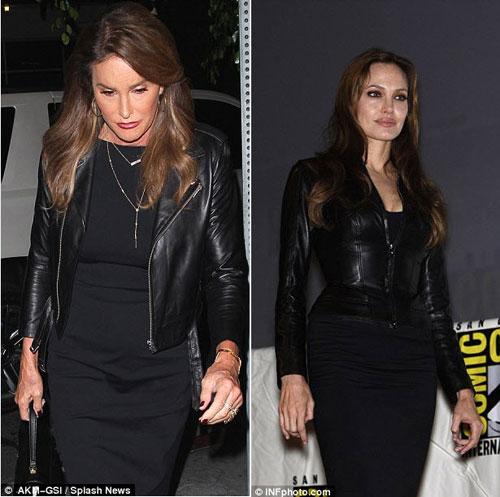 Bố dượng Kim học tập phong cách của Angelina Jolie-3
