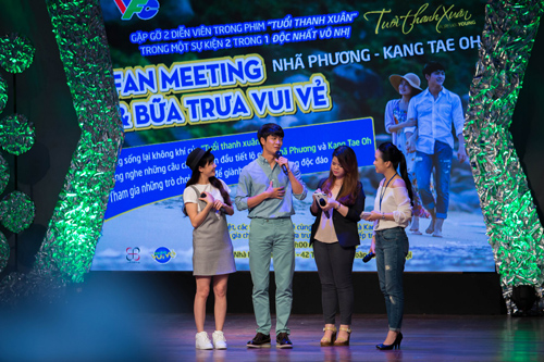 """Nhã Phương, Đinh Hương tái ngộ mỹ nam """"Tuổi thanh xuân"""" - 2"""