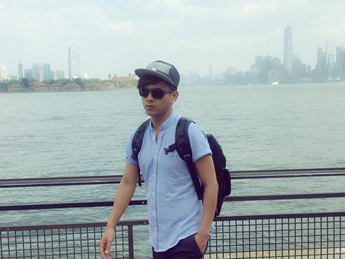 Hồ Quang Hiếu nhí nhảnh, trẻ trung tại Mỹ-3