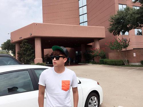Hồ Quang Hiếu nhí nhảnh, trẻ trung tại Mỹ-6