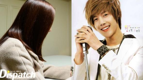 ban gai cu cua kim hyun joong sinh con - 1