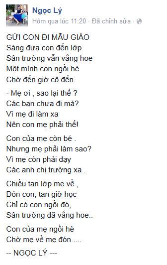 bai tho co giao nghen ngao ke chuyen dua don con di hoc - 1