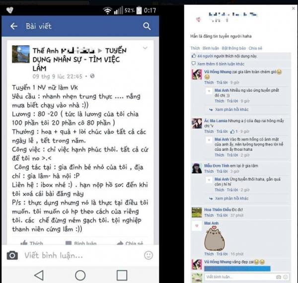 9x gay xon xao vi thong bao tuyen vo 'chi viec hanh phuc thoi' - 1