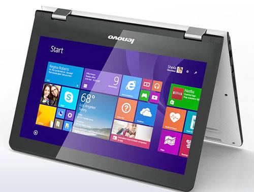 laptop bien hinh yoga 300 co gia 7,99 trieu dong tai viet nam - 1