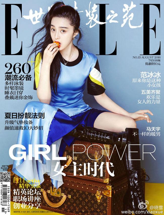 Vẫn bảo Phạm Băng Băng chỉ đẹp khi trang điểm, nhưng bộ hình mới nhất của nữ diễn viên trên tạp chí Elle số tháng 8 đã cho thấy đây là nhận định hoàn toàn sai lầm.