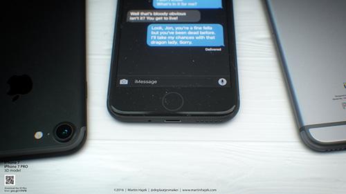 iPhone 7 màu đen lộ diện đầy mê hoặc trong bộ ảnh mới-3