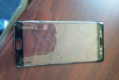Rò rỉ ảnh mặt trước cặp Samsung Galaxy Note 7-1