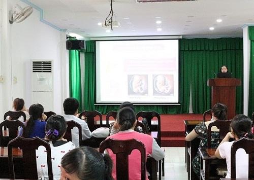 Lớp học tiền sản miễn phí cho thai phụ ở Cần Thơ-1