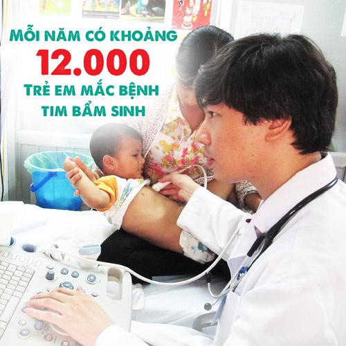 1.000 tre bi benh tim bam sinh cho phep mau tu cong dong - 1