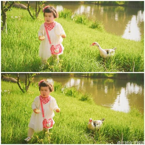 Những hình ảnh cực đáng yêu của bé gái 'thánh ăn'-16