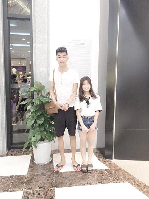 Sự thật về cặp đôi Thái Bình chàng 1m91 nàng 1m50 xôn xao dân mạng-1