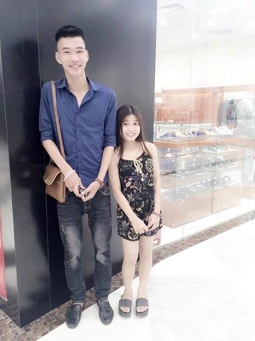 Sự thật về cặp đôi Thái Bình chàng 1m91 nàng 1m50 xôn xao dân mạng-3
