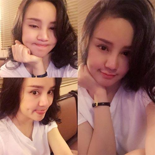 le thuy khoe eo thon gon bac bo tin don mang thai - 8