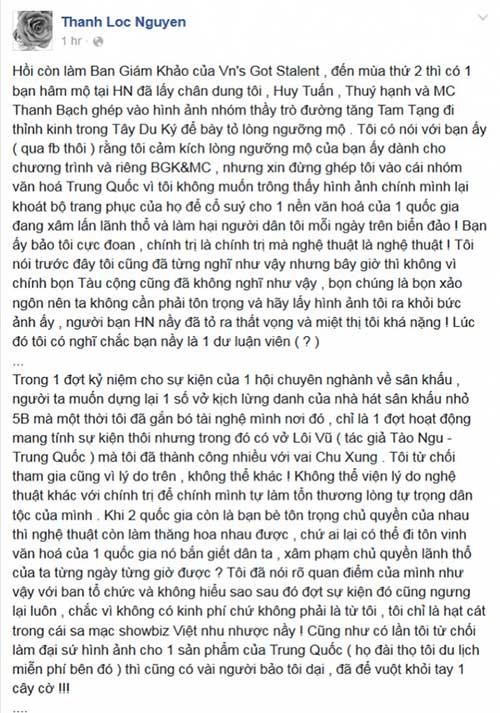 "danh sach sao viet ung ho cat ""duong luoi bo"" keo dai - 6"