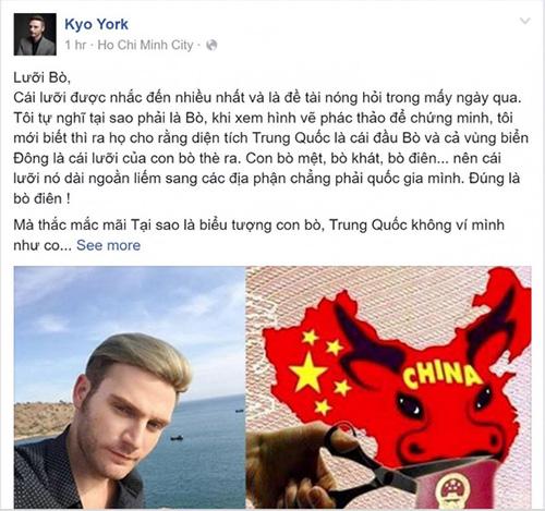 "danh sach sao viet ung ho cat ""duong luoi bo"" keo dai - 12"