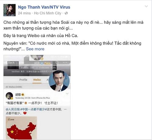 "danh sach sao viet ung ho cat ""duong luoi bo"" keo dai - 13"