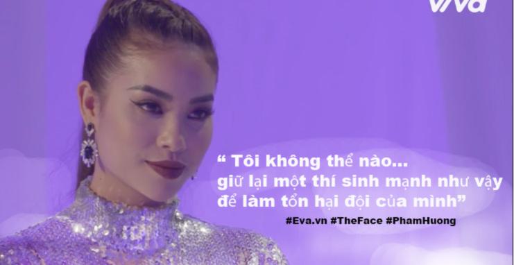 """the face tap 6: pham huong tham thuy """"da deu"""" dan chi ho ngoc ha - 3"""