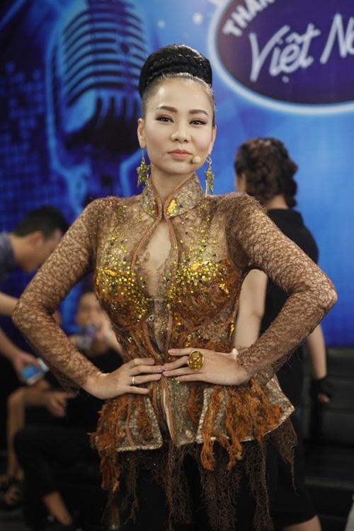 vietnam idol: thu minh dep quyen luc trong dem gala truc tiep - 4