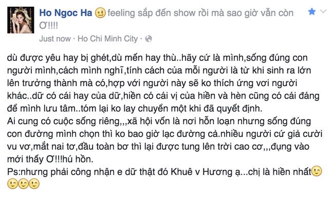 """the face viet nam: ha ho """"noi dien"""" khi lan khue bi to gia tao - 4"""