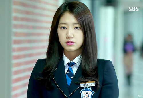 park shin hye gay sot voi cach trang diem trong 3 bo phim dinh dam - 1