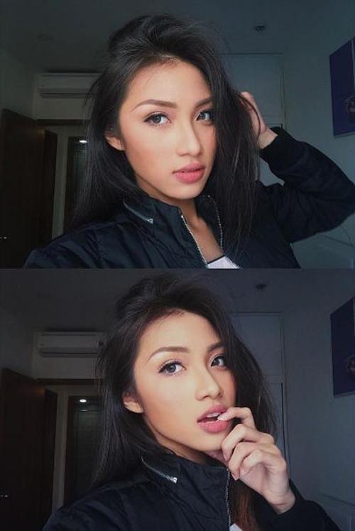 hot girl hoc vien hang khong tu hao khoe vong 3 dep den phat ghen - 9