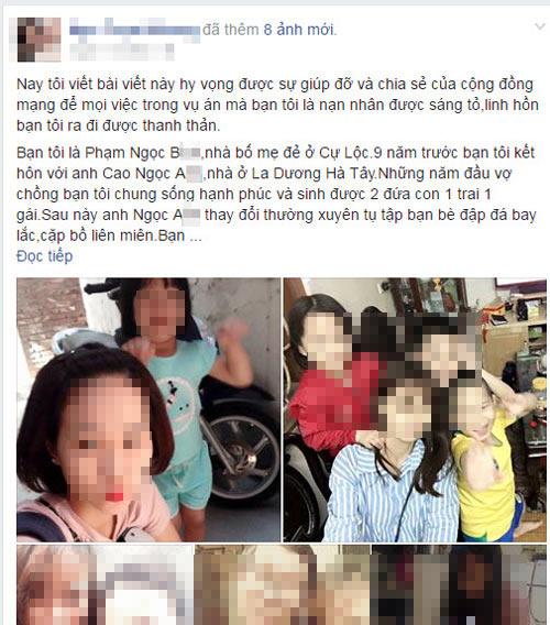 co gai o ha noi keu oan cho ban vi nghi bi sat hai chu khong phai tu tu - 1