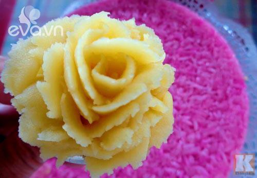 dieu da voi xoi hoa vi la cam dau xanh vua ngon vua dep - 9