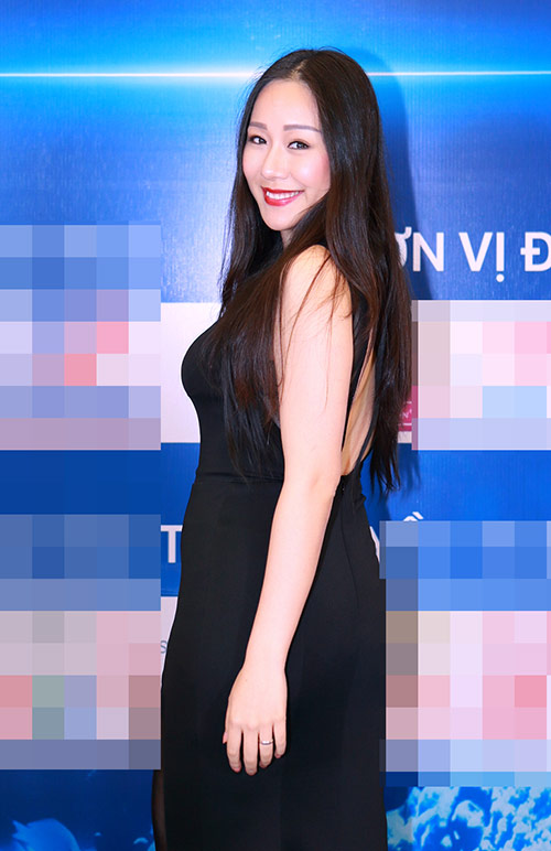 "ngo phuong lan ""vac"" bung bau di cham thi nhan sac - 1"