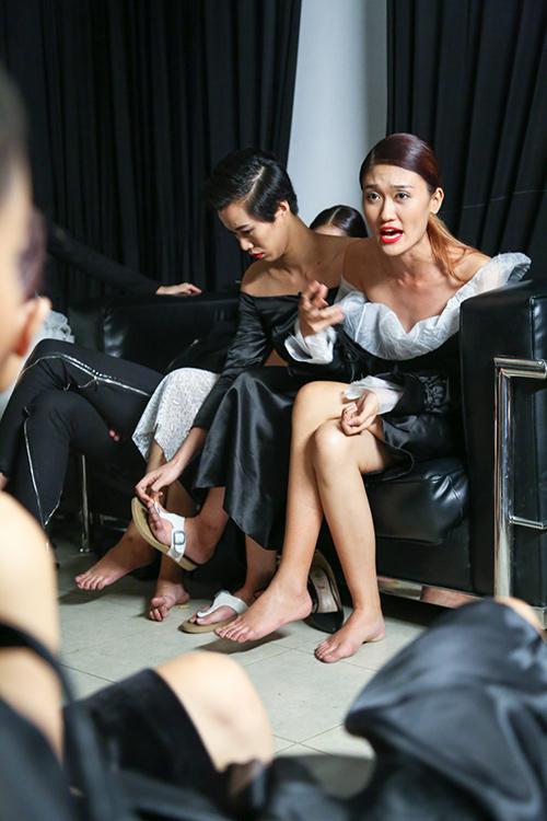 vietnam's next top model chim trong nhung nu hon va cai va - 7
