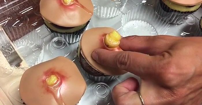 """""""son da ga"""" voi nhung chiec banh cupcake hinh mun nhot - 3"""