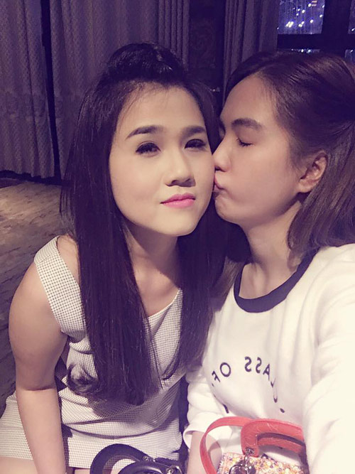 "3 chi gai cua my nhan viet  la ""ba me bim sua"" van xinh dep khong kem em - 5"