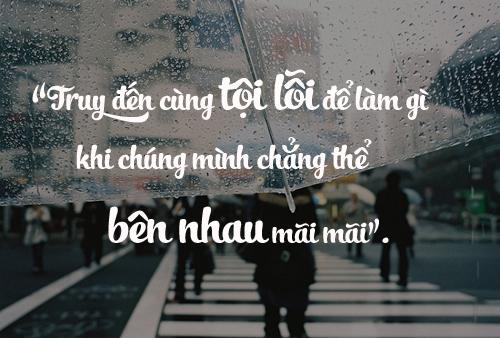 chung minh roi se lai yeu, khong phai yeu nhau ma la yeu nguoi khac - 3