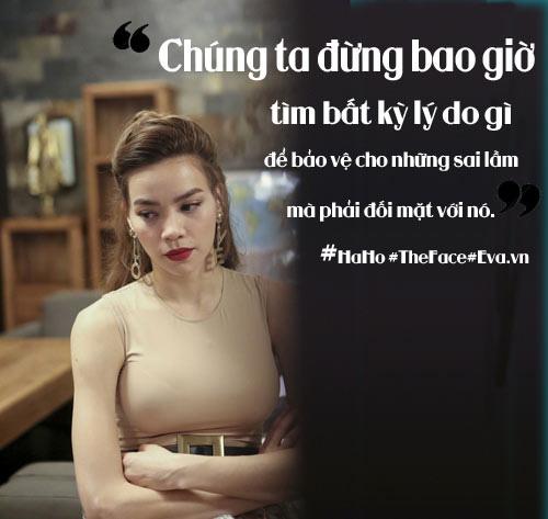 """the face viet nam: 12 cau noi """"nghe den dau tham den day"""" cua ho ngoc ha - 1"""